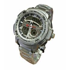 Harga Digitec Dual Time 3014 Silver Termahal