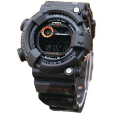 Spesifikasi Digitec Fishman D48H110Dg2078Thtma Digital Sporty Jam Tangan Pria Rubber Strap Hitam Army Dan Harga