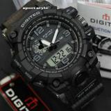 Spesifikasi Digitec Jam Tangan Dual Time Dg 2094T Original Full Hitam
