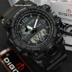 Ulasan Digitec Jam Tangan Dual Time Dg 2094T Original Full Hitam