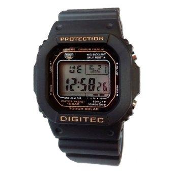 Digitec - Jam tangan Olahraga Wanita - Rubber Strap - DG 2024 B
