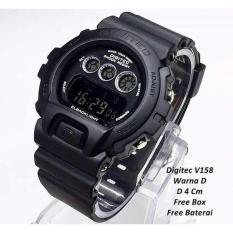 Spesifikasi Digitec Jam Tangan Pria Full Black Dg 2098T Strap Rubber Online