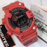 Beli Digitec Jam Tangan Sport Digital 8250 Rubber Army Fishman Series Merah Jawa Timur