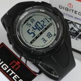 Model Digitec Jam Tangan Sport Digital Dg3019T Black Terbaru