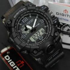 Digitec Jam Tangan Sport Dual Time DG2093T - Hitam
