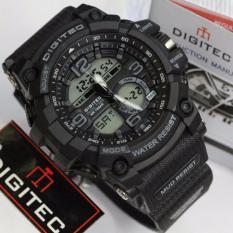 Beli Digitec Jam Tangan Sport Dual Time Dg2102T Black Kredit Jawa Timur