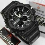 Promo Digitec Jam Tangan Sport Dual Time Dg2102T Black White Akhir Tahun