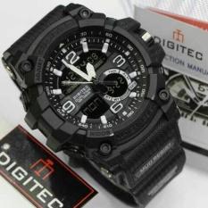 Cara Beli Digitec Jam Tangan Sport Dual Time Dg2102T Black White