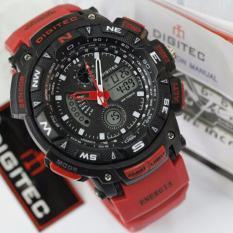 Jual Digitec Jam Tangan Sport Energia Dual Time Alarm Stopwacth Hari Tanggal Merah Baru