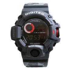Review Digitec Men S Jam Tangan Pria Dg 2086 Hitam Army Digital Karet Digitec
