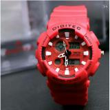 Harga Digitec Original Jam Tangan Sport Pria Dg1214Hr Rubber Strap Anti Air 30 M Asli Digitec