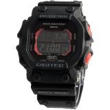 Jual Cepat Digitec Protection D49H90Dg2012Thtmm Digital Sport Jam Tangan Pria Rubber Strap Hitam