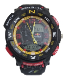 Situs Review Digitec Red Bull G 6059 Men Hitam Karet Jam Tangan Analog