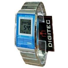 Digitec Sporty - Jam Tangan Wanita - Stainless Steel - DG3022 Blue
