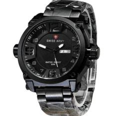 Dijamin Ori - Swiss Army Stainberg Stainless Steel - Jam Tangan Kantor Pria - Formal Watch For Man - Original type