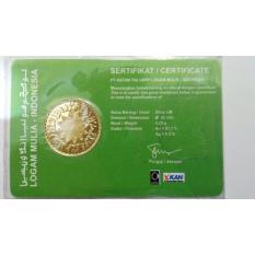 Jual Beli Dinar Emas 4 25 Gram Kadar Emas 91 7 Sertifikat Antam Asli Jawa Barat