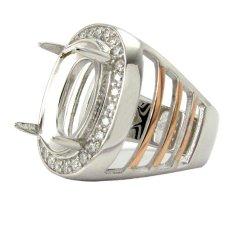 Diraff Ring Emban Cincin Perak Hongkong - 150514