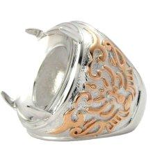 Diraff Ring Emban Cincin Perak Hongkong - 150517