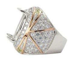 Diraff Ring Emban Cincin Perak Hongkong - 150518
