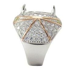 Diraff Ring Emban Cincin Perak Hongkong - 150518-K