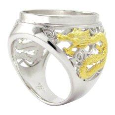 Diraff Ring Emban Cincin Perak Hongkong Kadar 925 - 150519