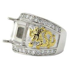 Diraff Ring Emban Cincin Perak Hongkong Kadar 925 150548
