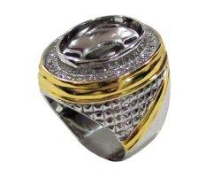 Diraff Ring Emban Cincin Perak Hongkong Kadar 925 150635 - Silver