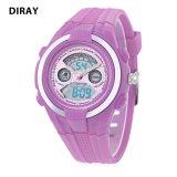 Promo Toko Diray Dr 211Ad Kids Digital Quartz Watch Tanggal Hari Tampilan Alarm 30 M Tahan Air Jam Tangan Ungu Intl