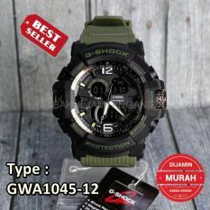 DISKON AKHIR TAHUN!   HARGA TERMURAH ... G-Shock Casio ARMY GWA1045 Hijau Green . Jam Tangan Pria