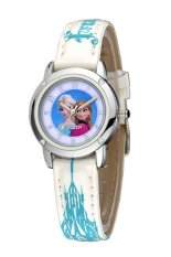 Disney Princess Frozen - Jam Tangan Anak - Putih - Leather Strap - FZ5460-W