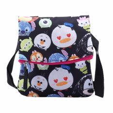 Disney Tsum Tsum Sling Bag Black Diskon Akhir Tahun