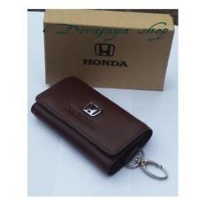 Harga Divajaya Shop Dompet Stnk Gantungan Kunci Mobil Motor Honda Coklat 100 Kulit Asli Yang Murah Dan Bagus