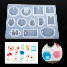 Spesifikasi Diy Silicone Handcraft Ornament Pendant Mold Jewelry Resin Mould Intl Yg Baik
