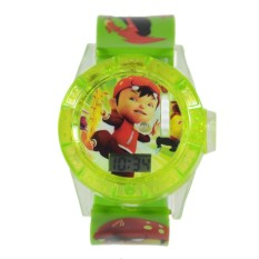 DnB Collection Jam Tangan Proyektor Boboiboy Hijau