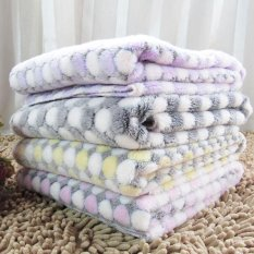 Dog Blanket Warm Dog Kennel Mat Pet Puppy Bed House Small Large Size Hand Wash Pet Mat Cama Para Perro(17050412-Rose-M)