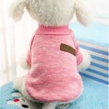 Dog Classic Sweater Pet Puppy Pakaian Hangat Musim Dingin Lembut Cat Jaket Mantel Hoodies Untuk Chihuahua Yorkie Anjing Xs Xxl Warna Pink Ukuran Xl Intl Terbaru