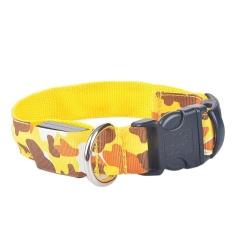 "Dog Collar Unik LED Rechargeable Kamuflase Kerah Hewan Peliharaan Bandung Photo: ""(Kuning) XL-Intl"