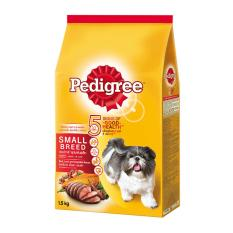 Dog Food / Makanan Anjing Pedigree Small Breed Beef, Liver and Vegetables 1,5 Kg