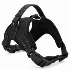 Spesifikasi Dog Harness Adjustable Pet Dog Big Exit Harness Vest Collar Strap For Small And Large Dogs Pitbulls Black Xl Intl