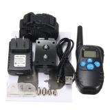 Jual Anjing Pelatihan Hewan Peliharaan Kerah Rechargeable Electric Lcd 100 Tingkat Shock Collar Remote Us Plug Intl Oem Murah