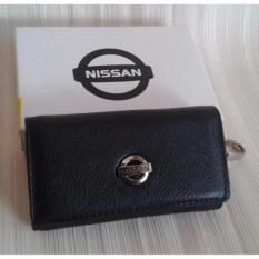 Dompet STNK gantungan kunci mobil Nissan KULIT