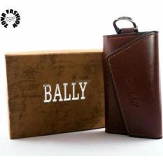 Dompet STNK - gantungan kunci mobil/motor Bally (100% kulit asli)
