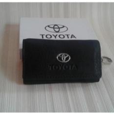 Dompet STNK - gantungan kunci mobil/motor TOYOTA (100% kulit asli)