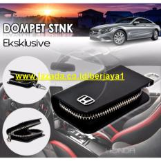 Jual Dompet Stnk Mobil Exclusive Dompet Kunci Mobil Dompet Kulit Honda Hitam Import