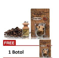 D'One Parfum Mobil / Pengharum Ruangan / Aksesoris Mobil / Parfum Gantung Unik Aroma Coffee / Kopi + Get 1 Free