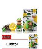 Beli Parfum Mobil Parfum D One Pengharum Ruangan Parfum Gantung Unik Aroma Greentea Lemon Get 1 Free Lengkap