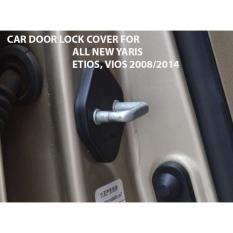 Door Lock Cover Toyota Etios, New Yaris, Vios 2005/2014, New Fortuner