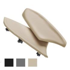 Panel Pintu Sandaran Tangan Kulit Asli untuk Honda Sesuai 08-12 Krem-Internasional