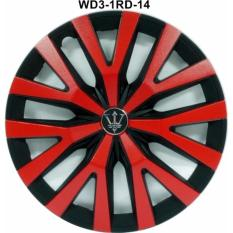 Jual Dop Roda Mobil Wd3 1Rd 14 Inch Black Red Sport Wheel Cover Evolution Design Online Di Dki Jakarta