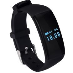 DOTEC SKMEI D21 Pria dan Wanita Umum Tahan Air Tangan Cincin Watch Watch untuk IOS Android Hitam-Intl